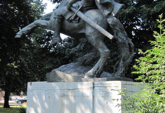 Renovatie standbeeld Keizer Karel